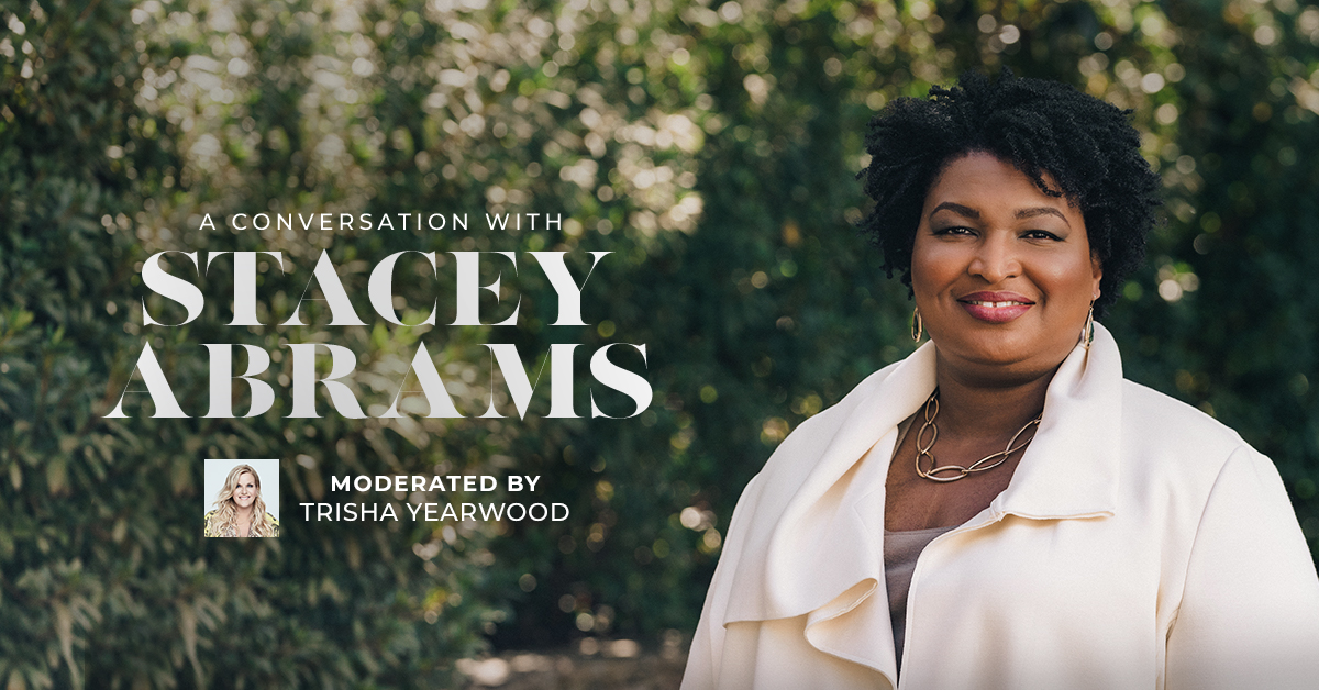 A Conversation with Stacey Abrams moderated by Trisha Yearwood at TPAC Nov. 16