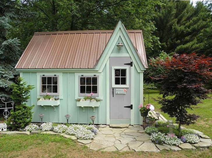 """""""She Sheds"""" Are All the Rage for Moms Tired of Man Caves ... Especially on Superbowl Sunday!"""