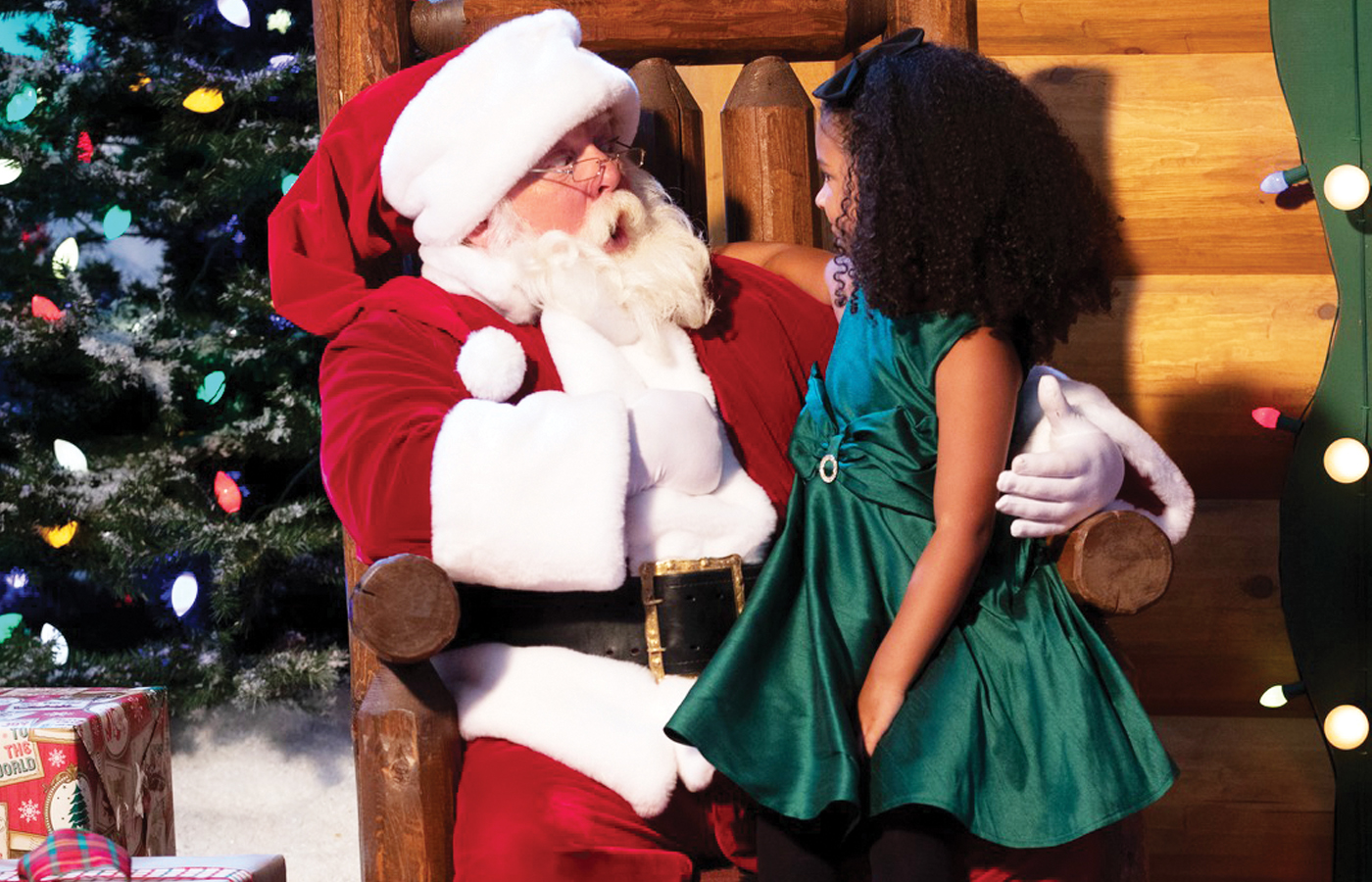 Santa's Wonderland at Bass Pro Shop