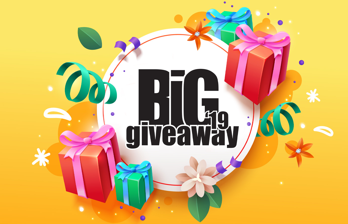 Win Great Prizes in The Big Giveaway 2019!