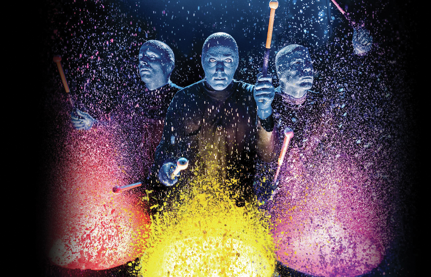 The Magical Mystery of Blue Man Group