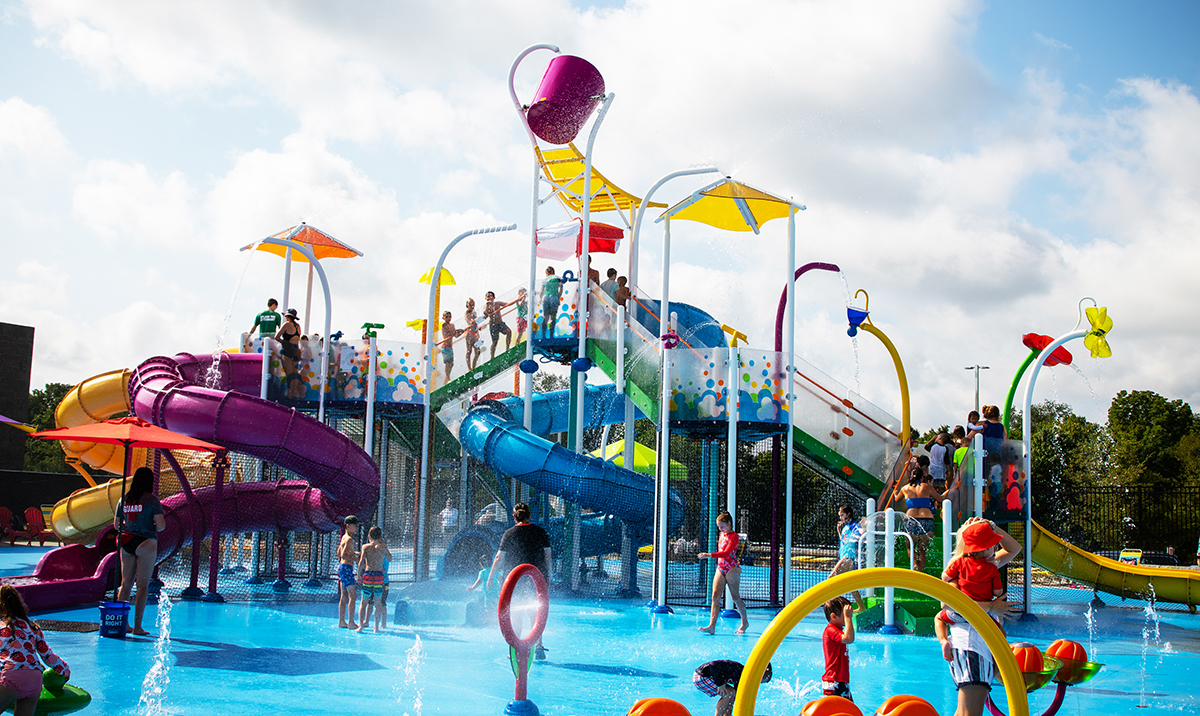 Outdoor Pools and Splash Parks Summer Hours