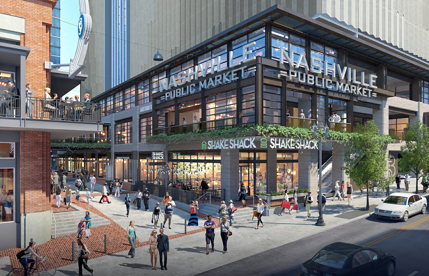Retail & Dining at Nashville's Fifth + Broadway Opening Soon