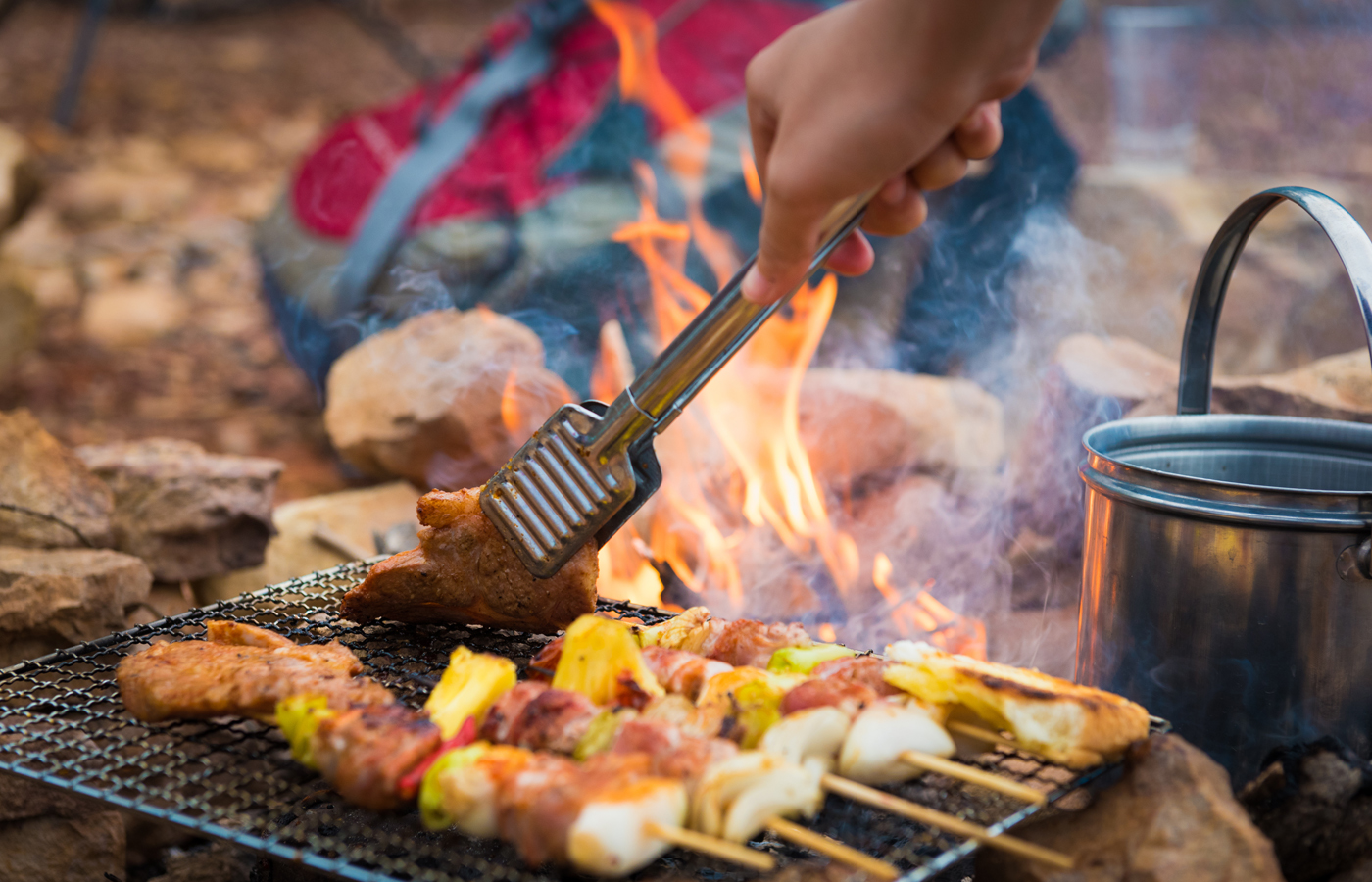 Campfire Meals and Treats - Nashville fun and things to do for