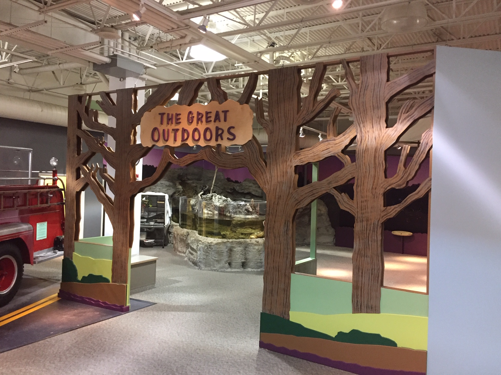 """Discovery Center's New """"Great Outdoors"""" Exhibit"""