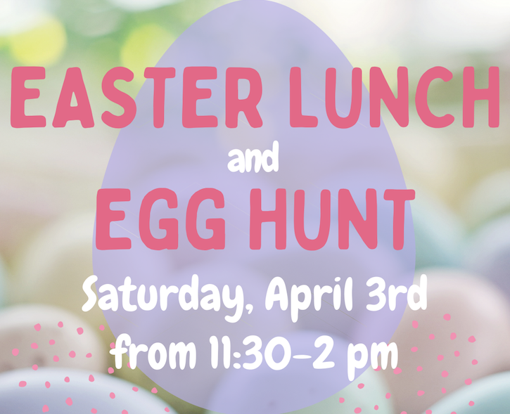 Easter Lunch and Easter Egg Hunt