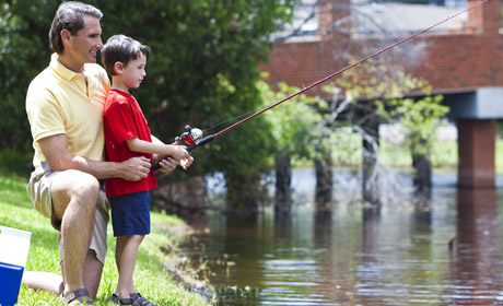 Free Kids' Fishing Rodeo