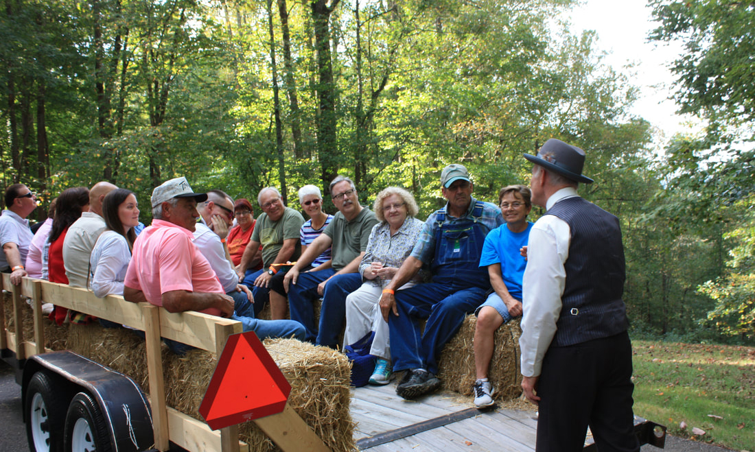 14th History Hayride at Edgar Evins State Park Oct. 12