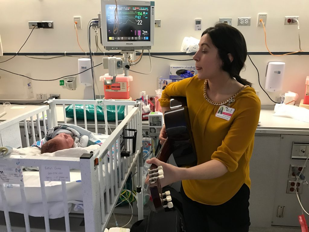 How Music Therapy Helped My Premature Baby