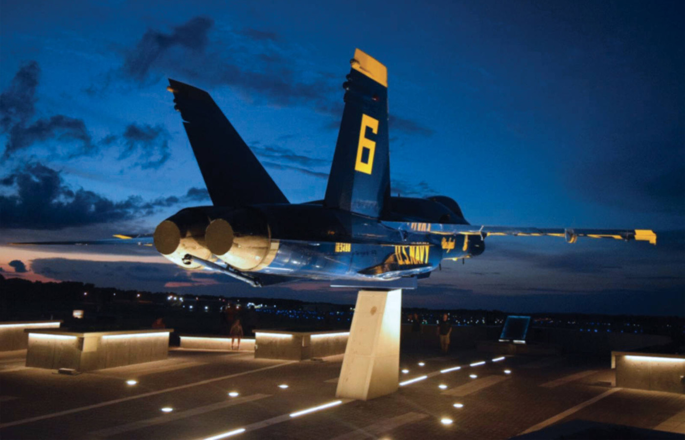 Inaugural Top Gun Night Run