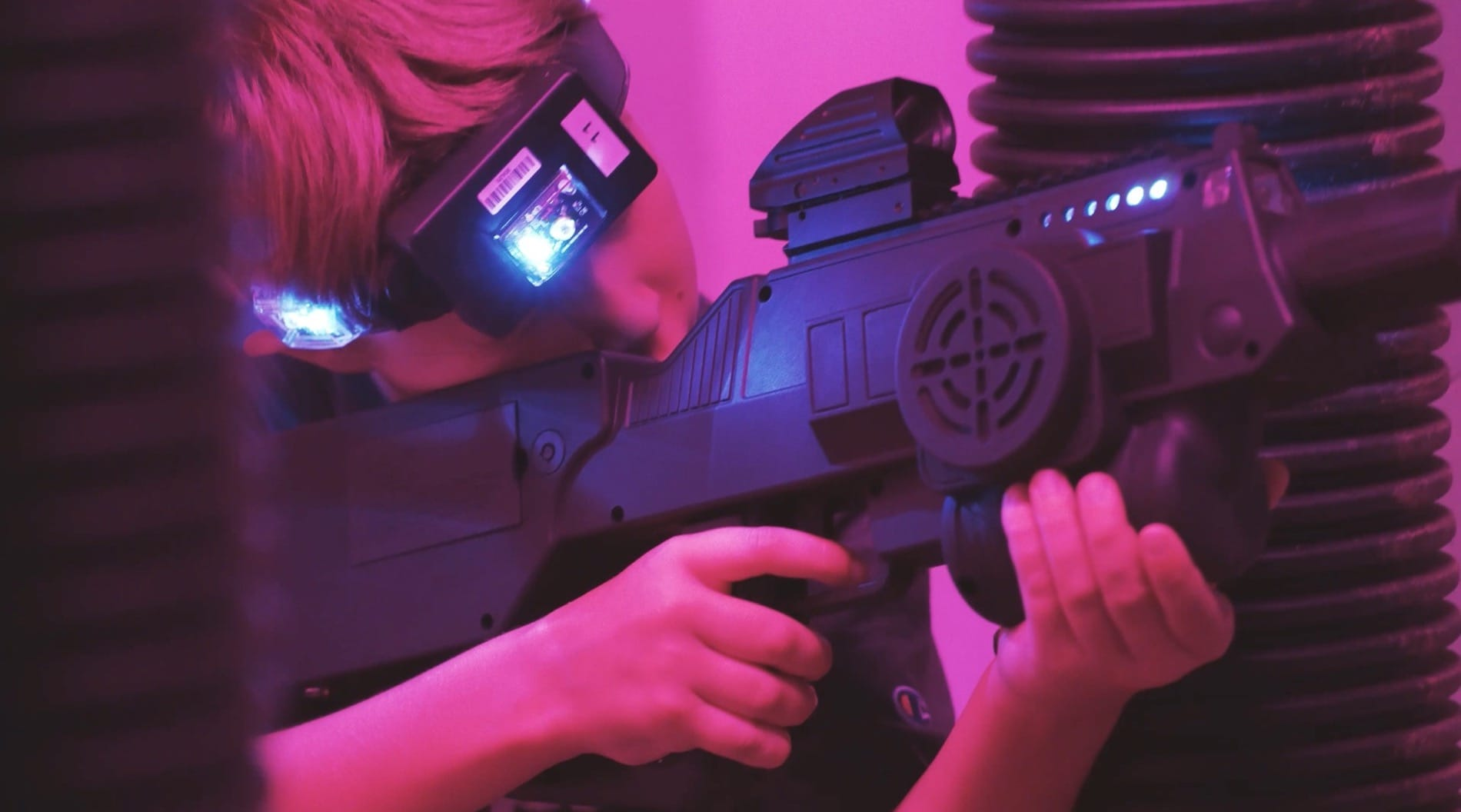 New Laser Tag Arena Opens at LTA Depot