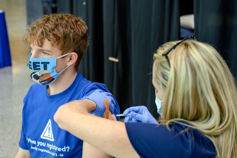 MTSU Joins COVID-19 College Vaccine Challenge to Boost Vaccinations Nationwide