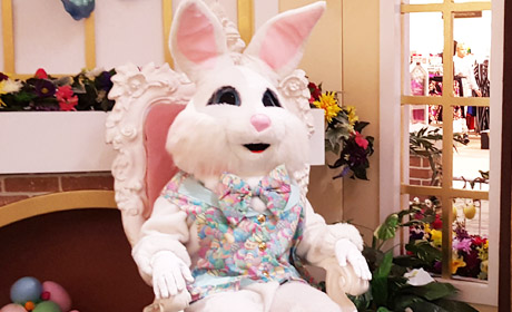 Easter Bunny at the Malls 2017