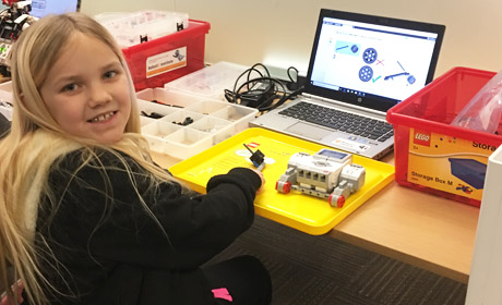 Coding is Cool at RobotiX Institute