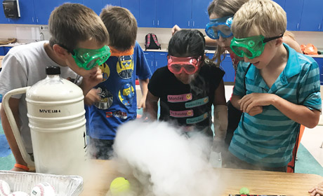 Free Science in the Summer for Kids
