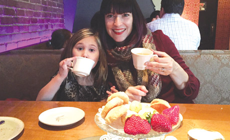 Mommy-Daughter High Tea