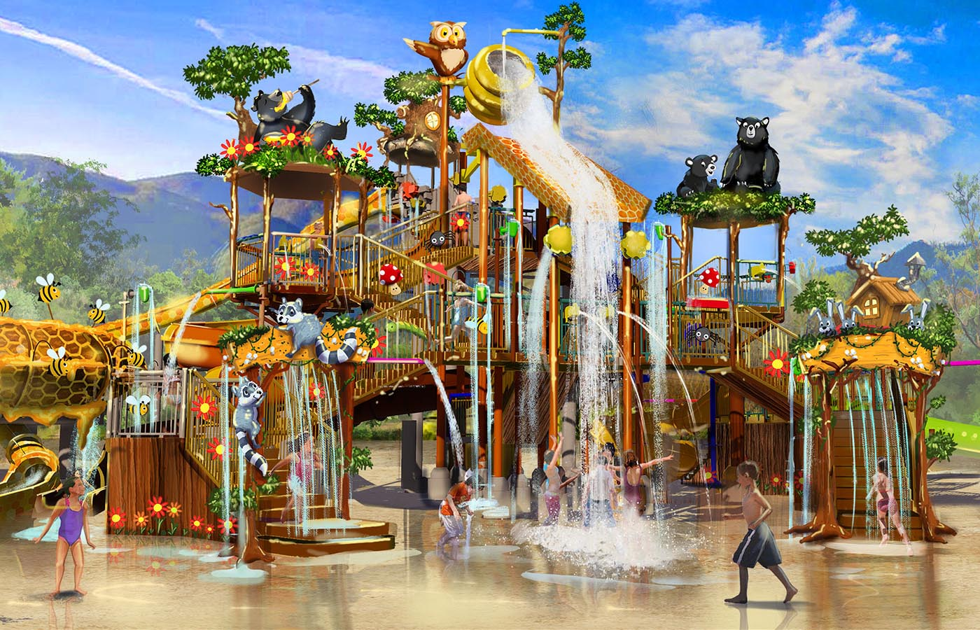 Smoky Mountain's New Waterpark
