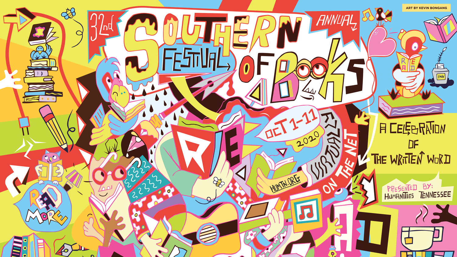 Southern Festival of Books 2020 (Online)