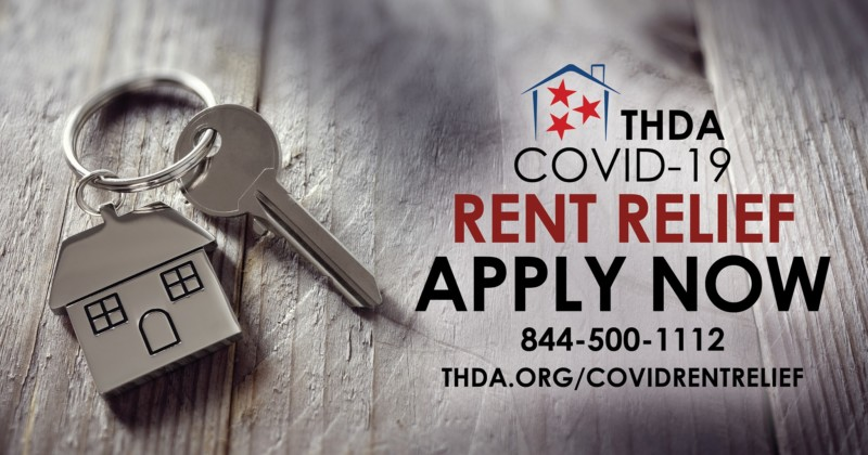 THDA Taking Applications for COVID-19 Rent Relief