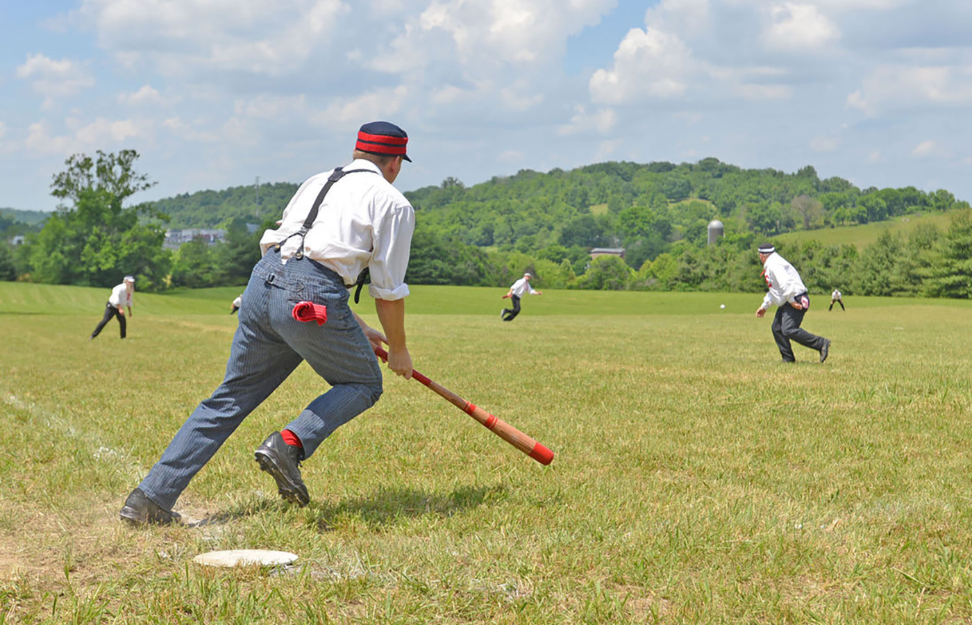 Play Ball! Free Vintage Baseball All Summer Long