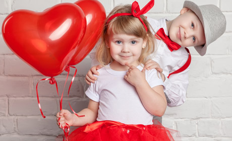Making Valentine's Day Memories with Kids