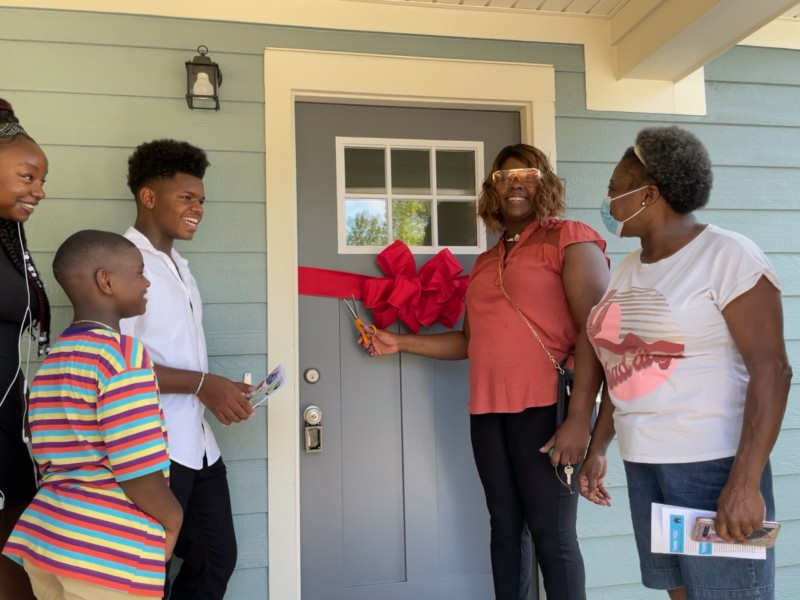 Habitat for Humanity Makes Dream Come True for Franklin Mom