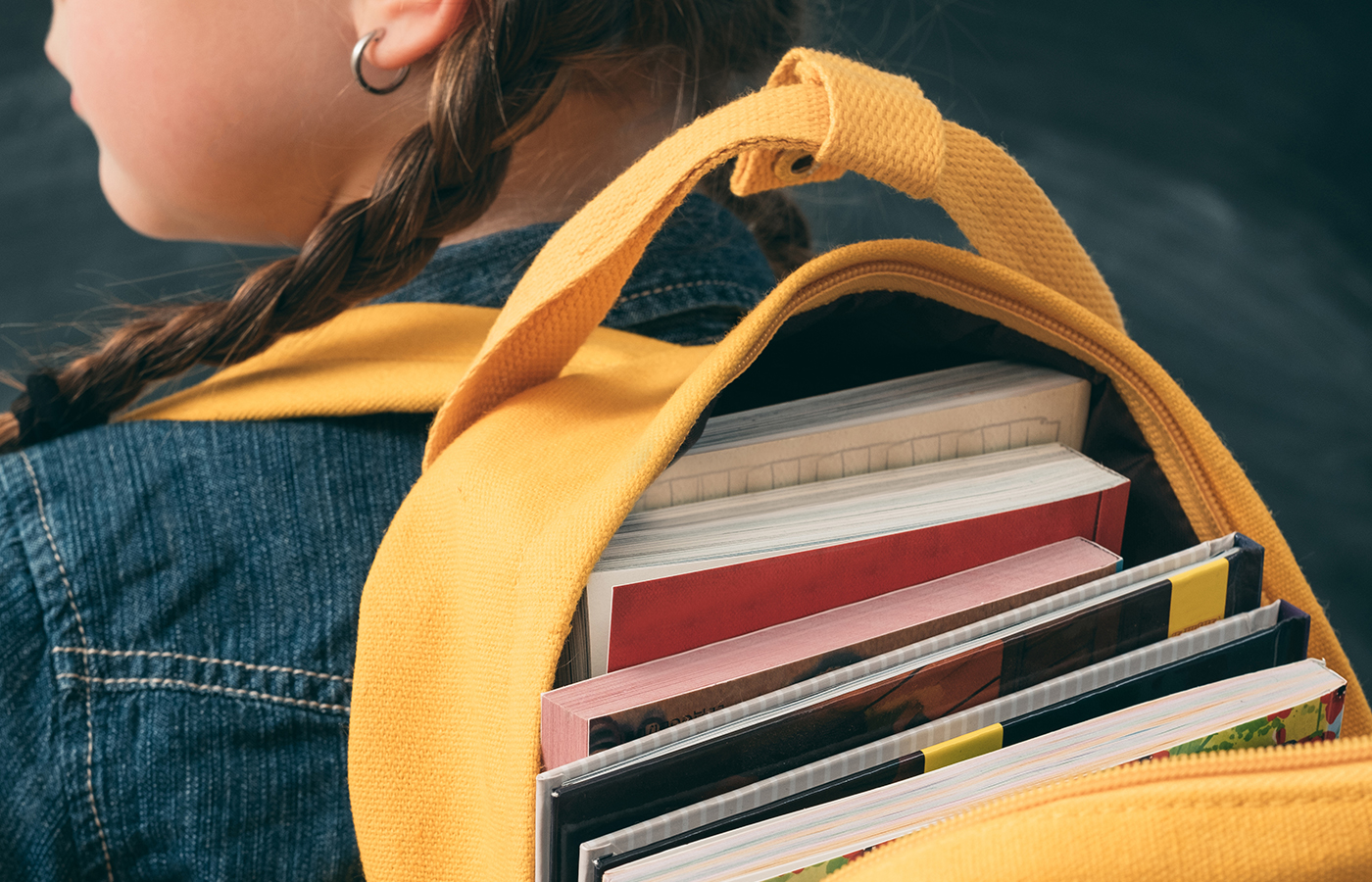 Over-Loaded Backpacks Can Hurt Kids