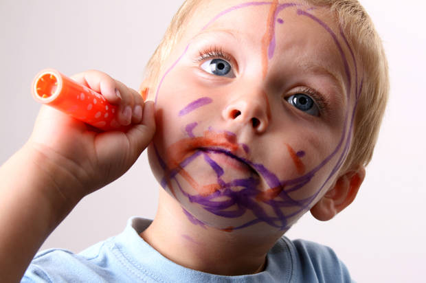 If You Give a Toddler a Marker ... Make Sure it's Not a Sharpie!