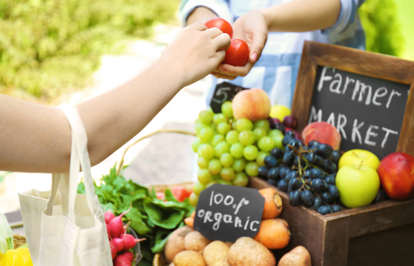 ROUNDUP! Enjoy Local Farmers' Markets in 2021