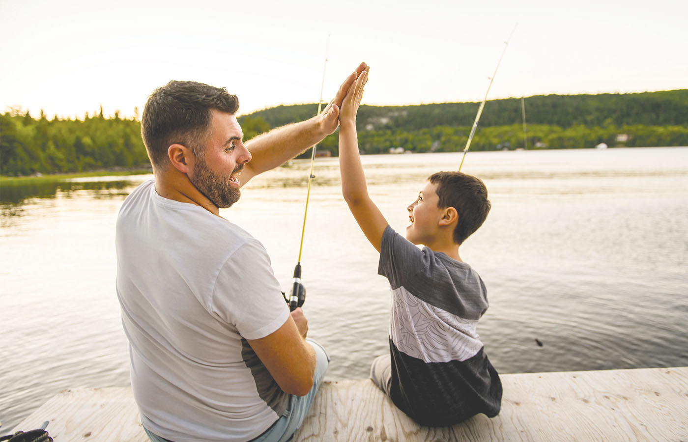 Go Fishing With Dad (and Mom!)