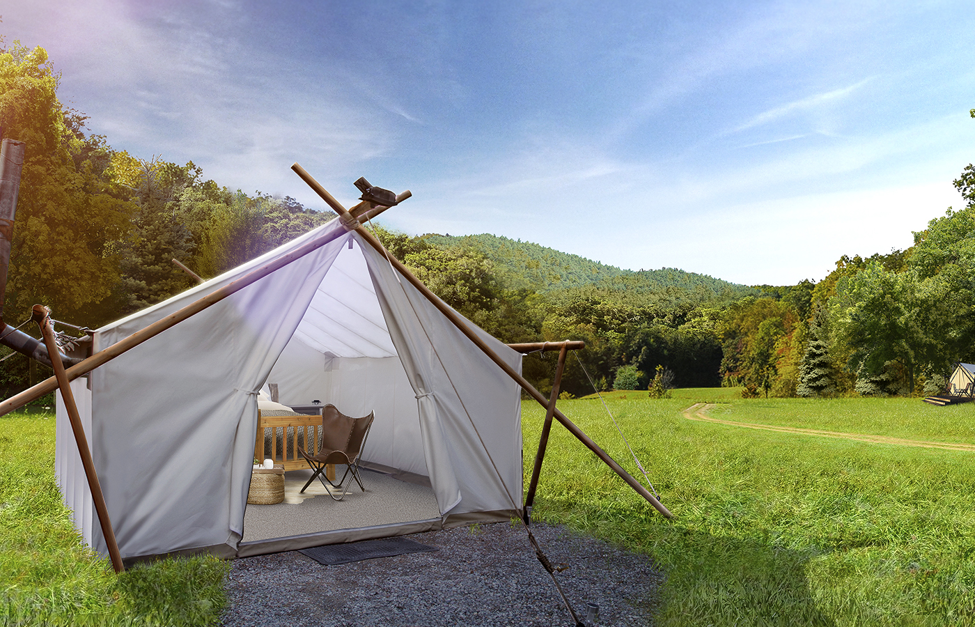 Southern Glamping To Sigh For