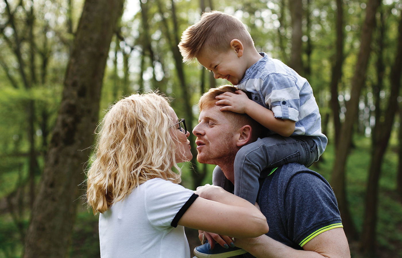 Yes, You Should Be Affectionate in Front of the Kids!