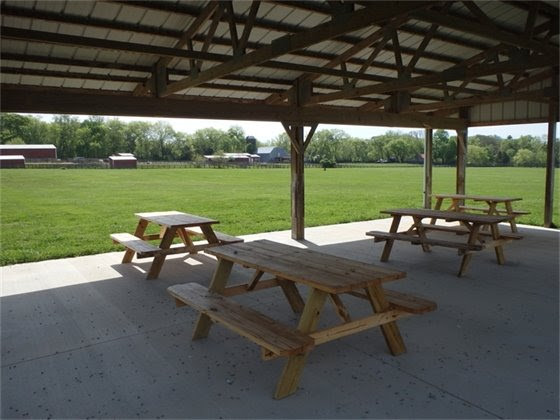 New Pavilion at Thompson's Station Preservation Park Available to Rent