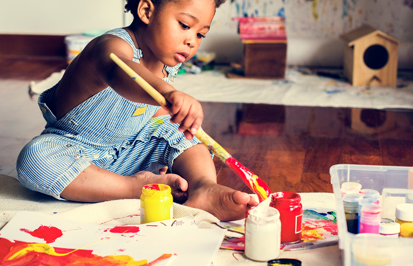 Fire Up Your Child's Imagination by Giving Him the Arts