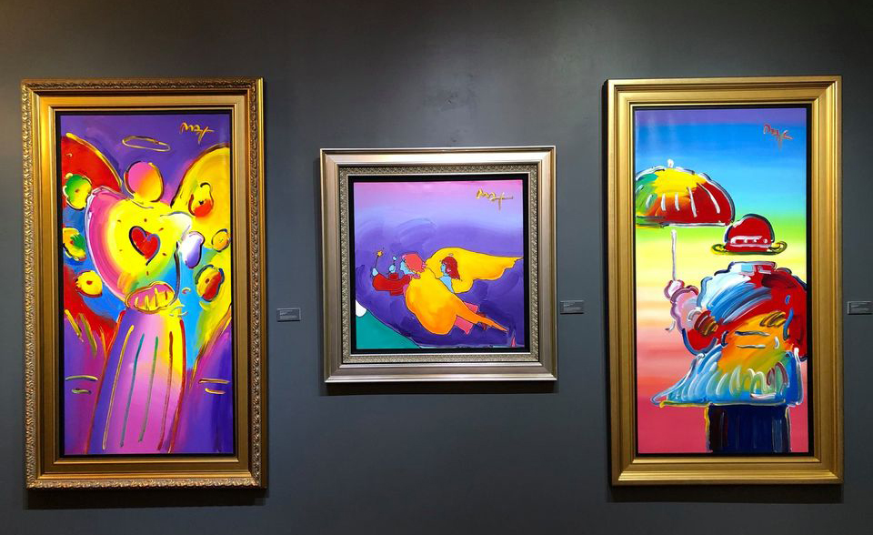 'Peter Max: A Cosmic Christmas' at Monthaven Extended Thru Jan. 31