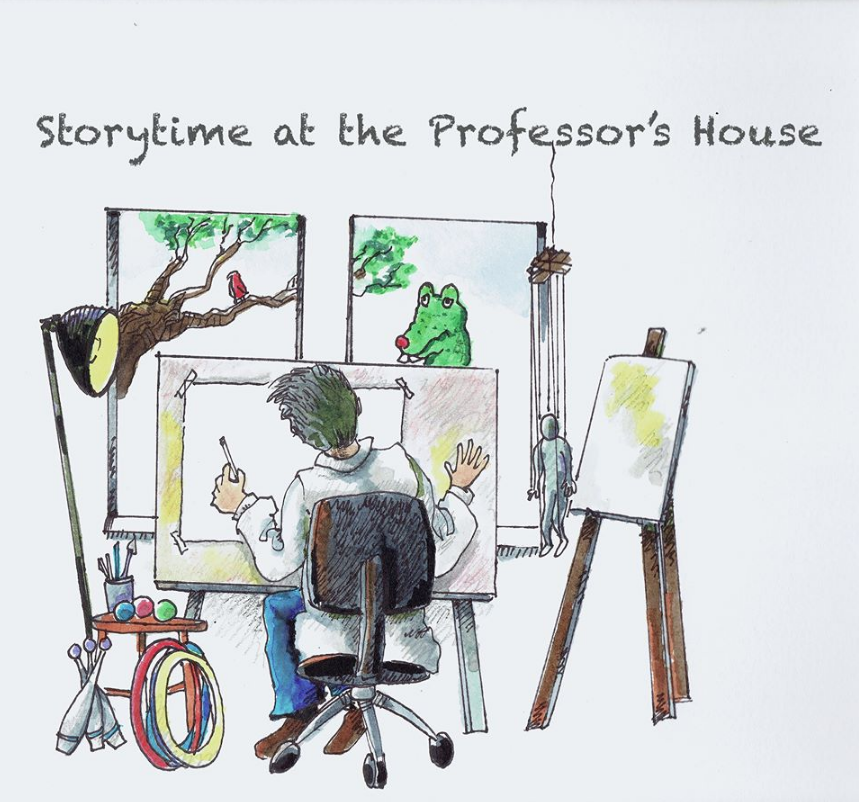 Story Time at the Professor's House (Online)
