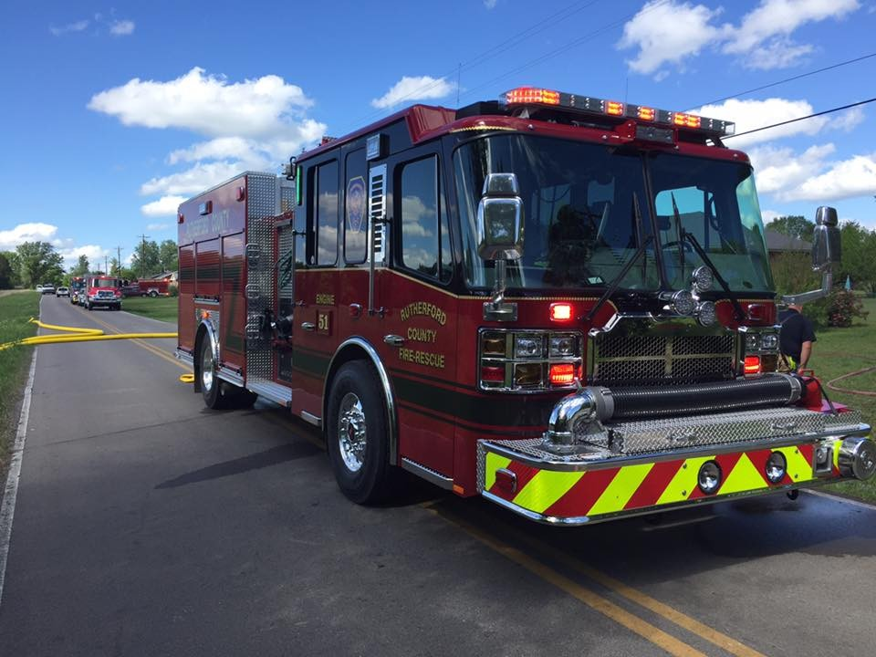 Rutherford County Fire Rescue Promotes Fire Prevention Week