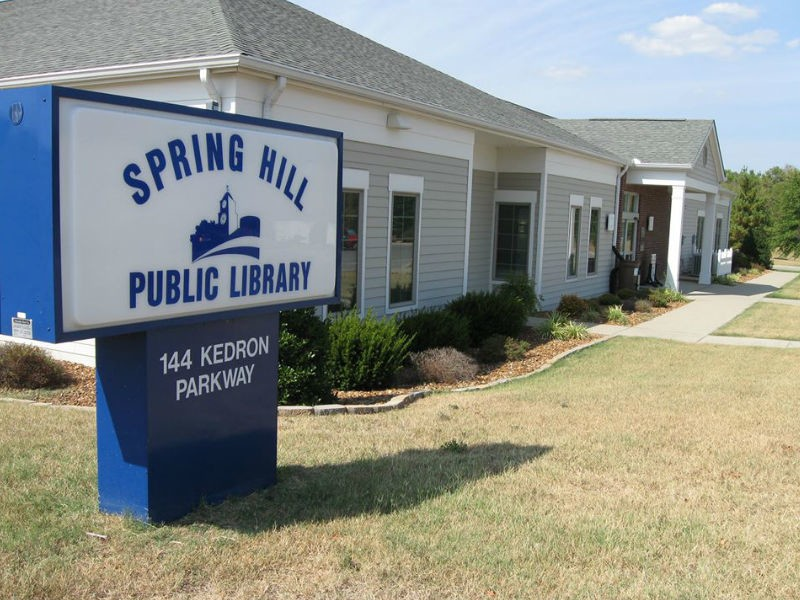 Spring Hill Library Book Sale is Back July 30