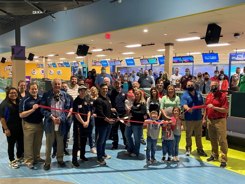 Strike & Spare Family Fun Center Opens At New Location