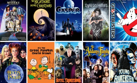 25 Not-So-Scary Halloween Movies For Kids