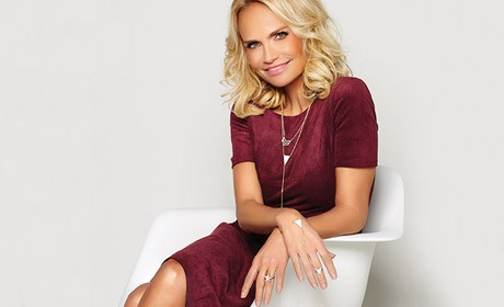 Kristin Chenoweth at Home on Stage