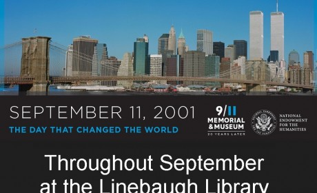 Linebaugh Library To Display Special 9/11 Exhibit All Of September