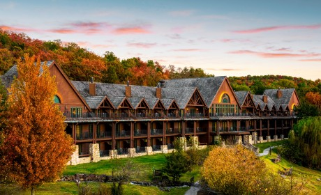 Beautiful Big Cedar Lodge Resort