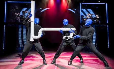 Review: Blue Man Group Dazzles with Delight