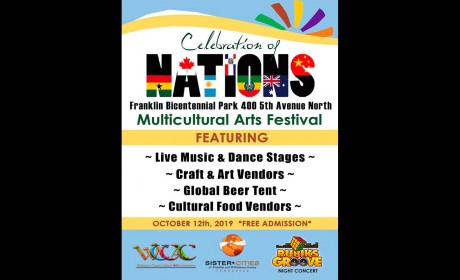 Celebration of Nations Oct. 12 in Franklin