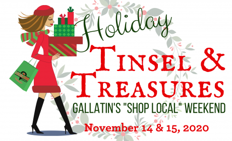 """Tinsel & Treasures"" Holiday Open House This Weekend in Gallatin"