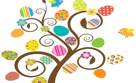 Create an Easter Tree