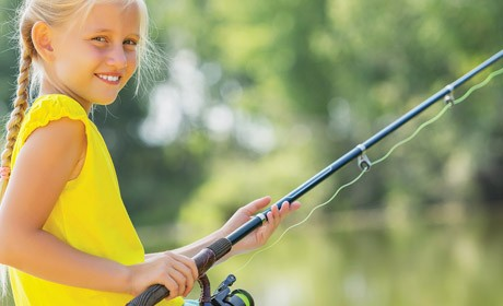 Free Fishing Day for Kids