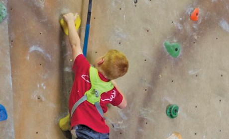 Youth Rock Climbing Club Signups