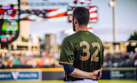 Sounds Host Online Auction of Camouflage Military Jerseys